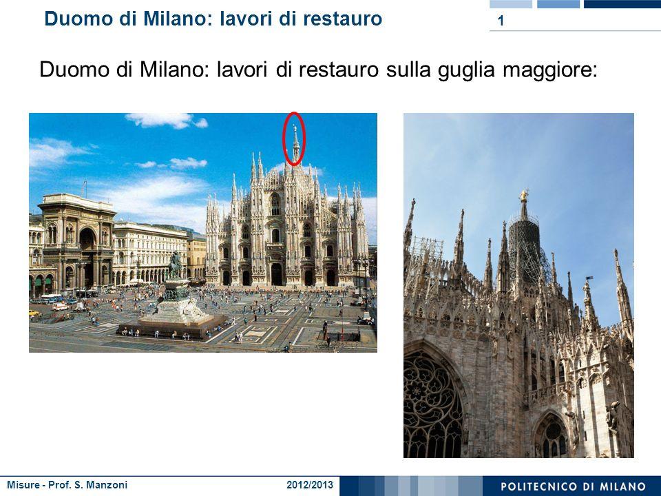 Duomo di Milano: lavori di restauro