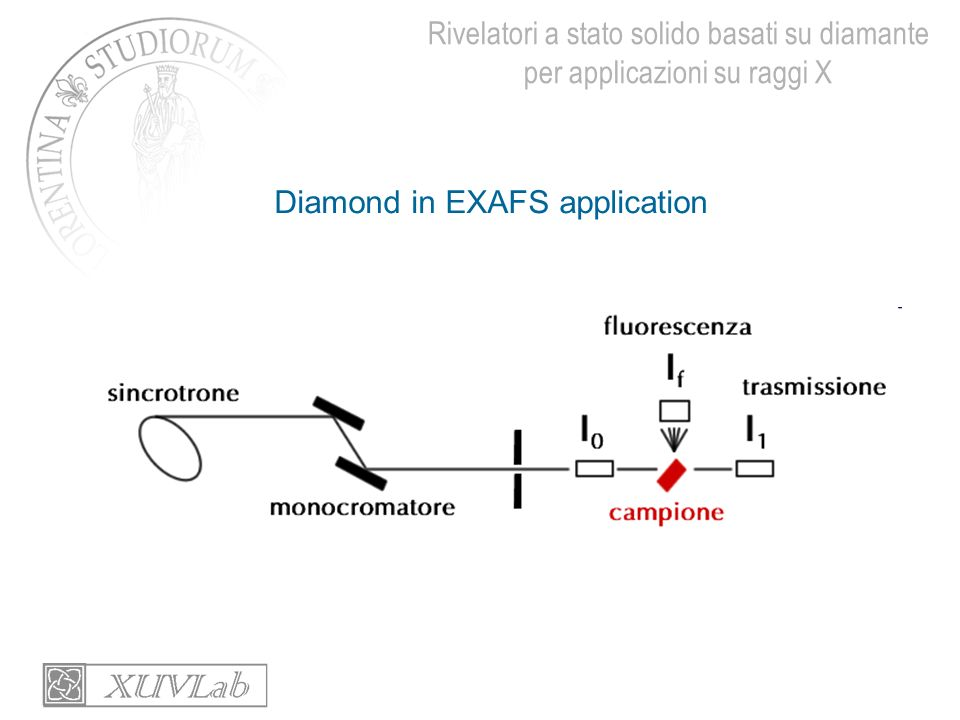 Diamond in EXAFS application