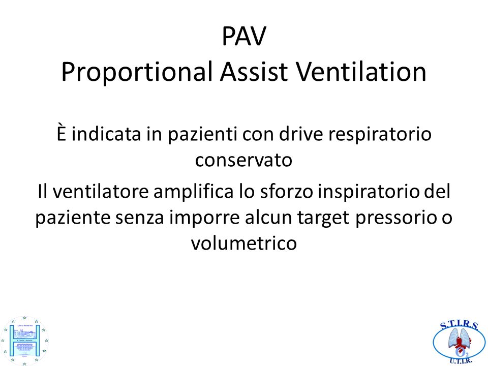 PAV Proportional Assist Ventilation