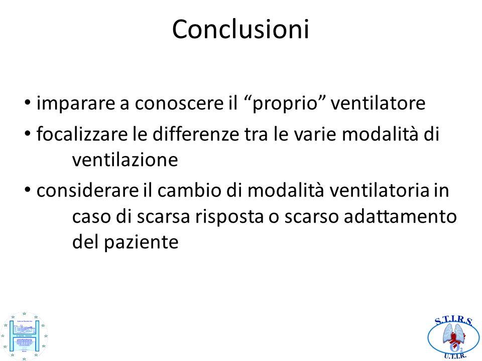 Conclusioni imparare a conoscere il proprio ventilatore