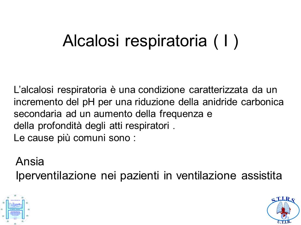 Alcalosi respiratoria ( I )