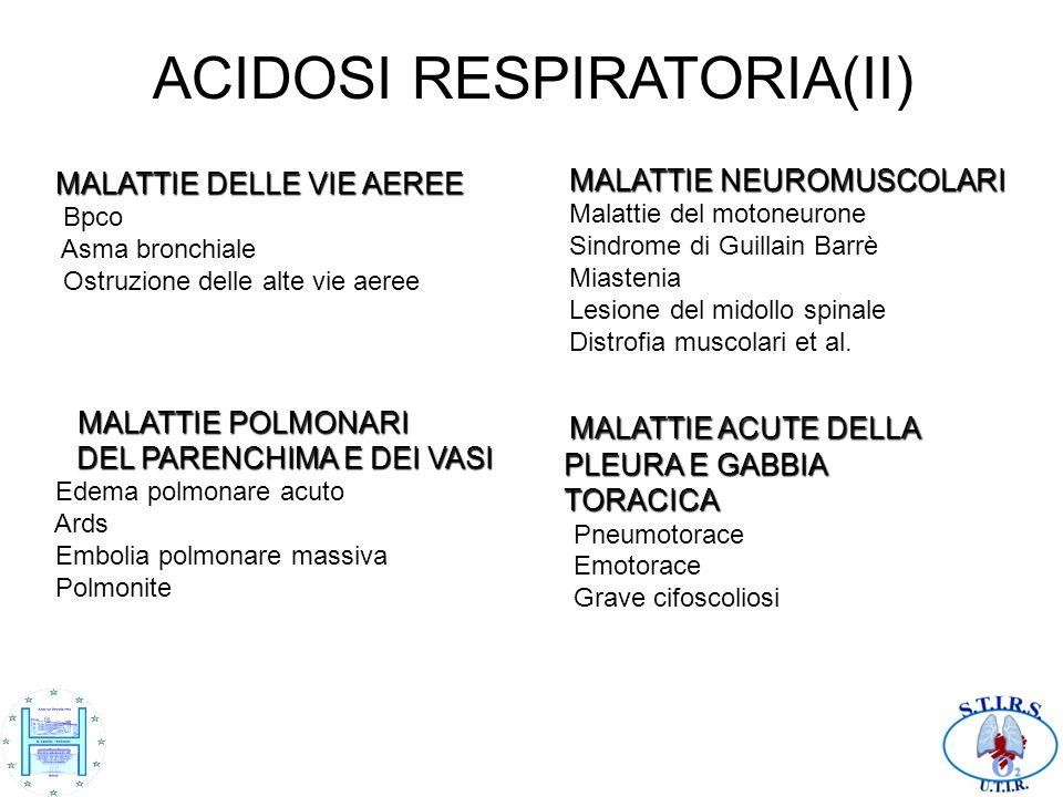 ACIDOSI RESPIRATORIA(II)