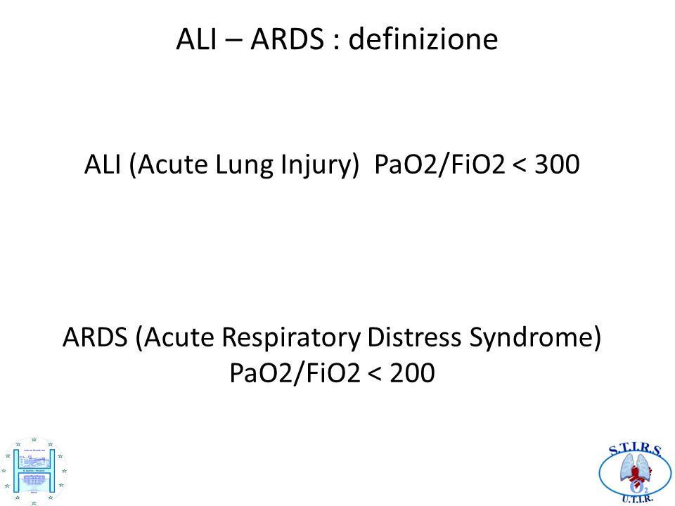 ALI – ARDS : definizione
