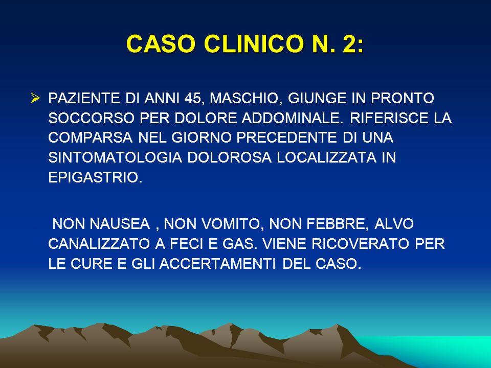 CASO CLINICO N. 2: