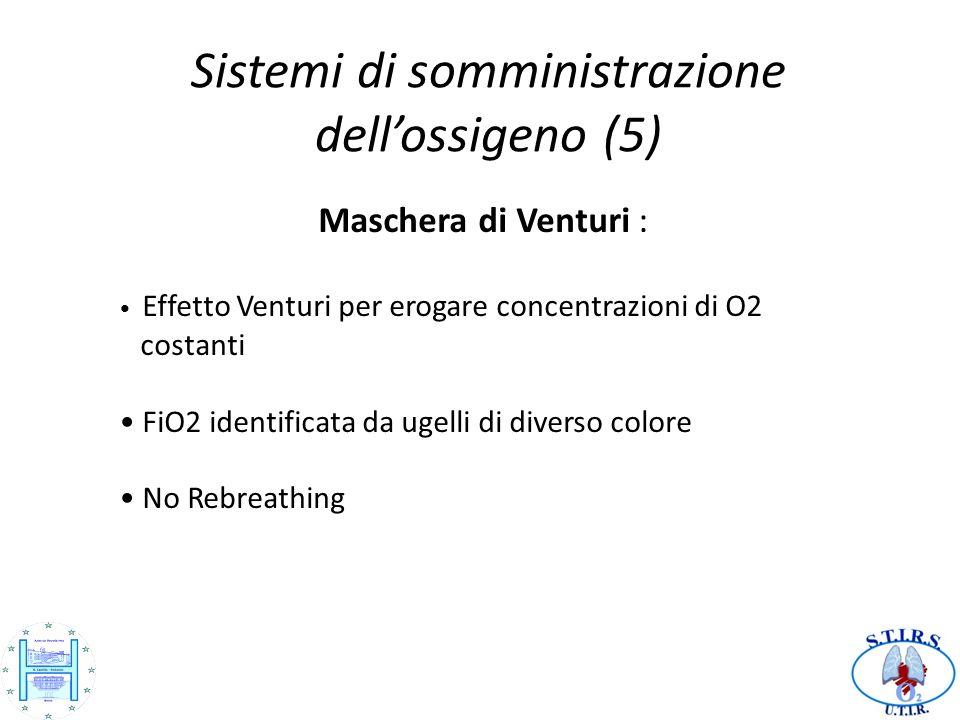 Sistemi di somministrazione dell'ossigeno (5)