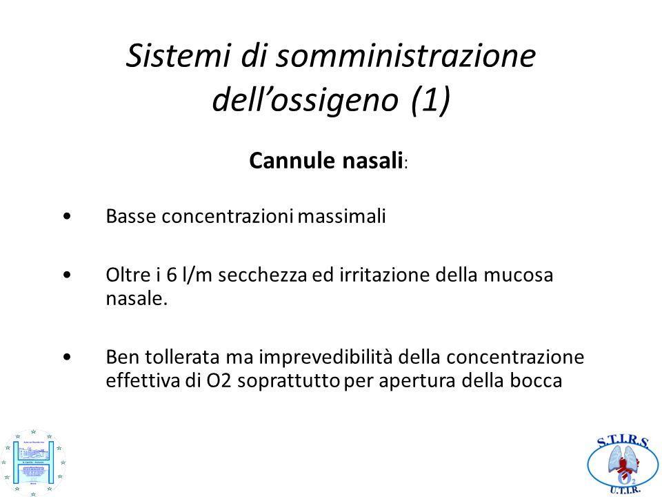 Sistemi di somministrazione dell'ossigeno (1)