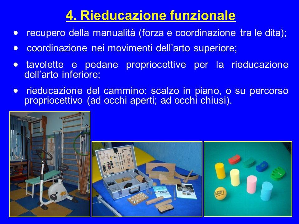 4. Rieducazione funzionale