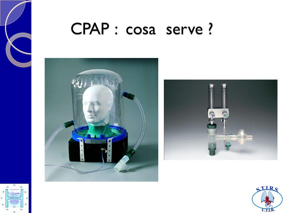 CPAP : cosa serve