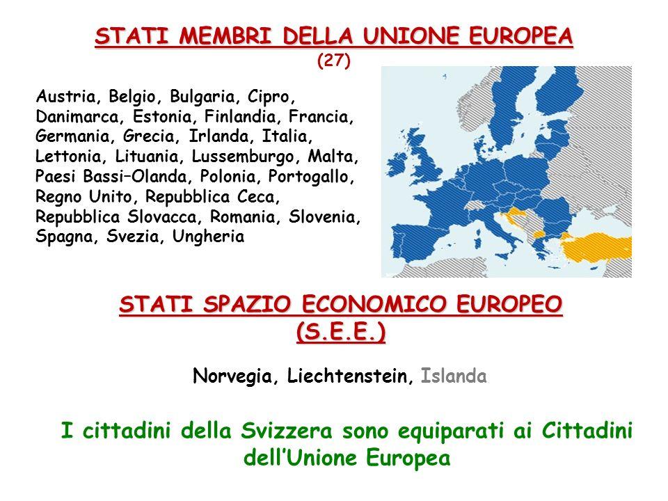STATI MEMBRI DELLA UNIONE EUROPEA (27)