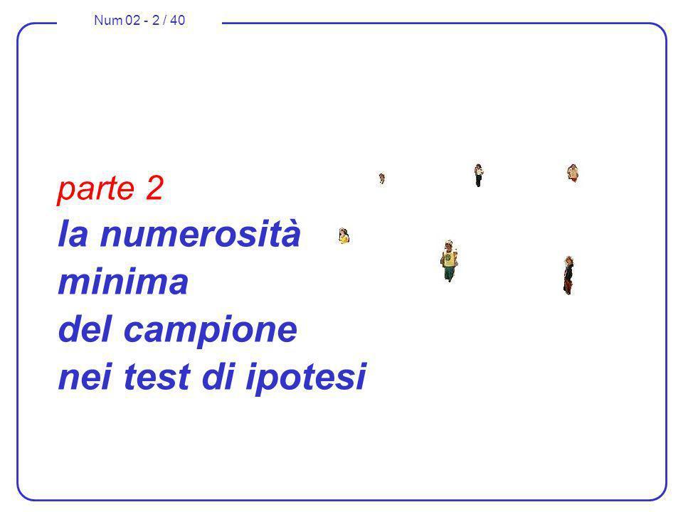 parte 2 la numerosità minima del campione nei test di ipotesi
