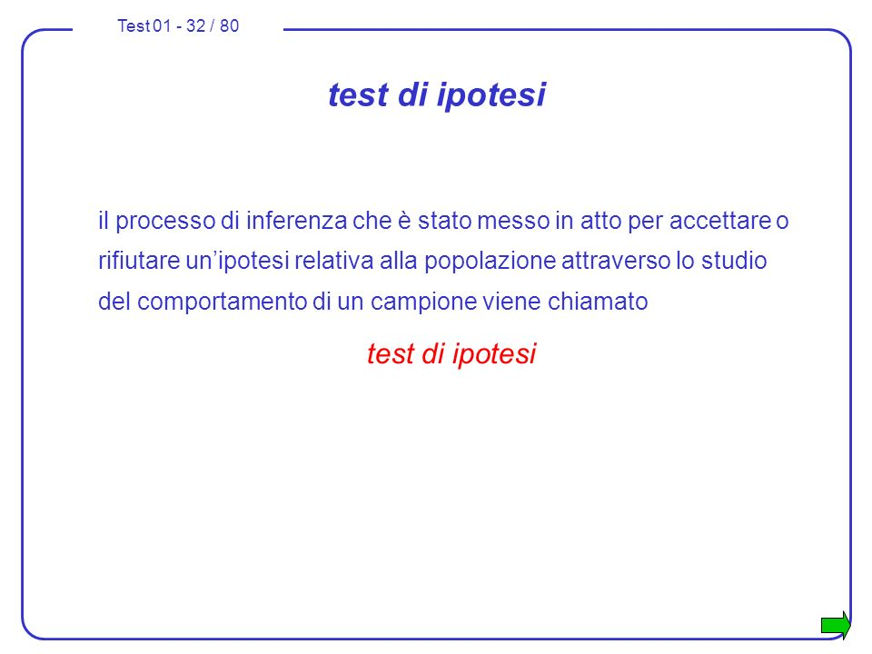 test di ipotesi