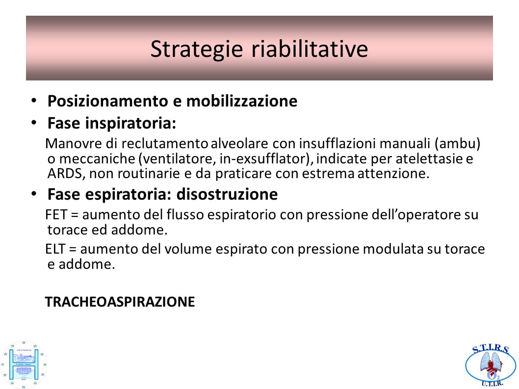 Strategie riabilitative