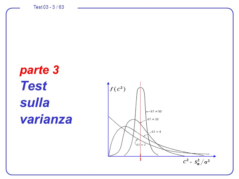 parte 3 Test sulla varianza