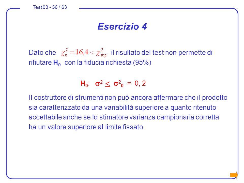 Esercizio 4