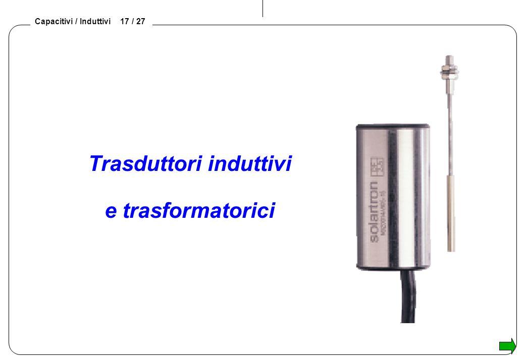 Trasduttori induttivi e trasformatorici