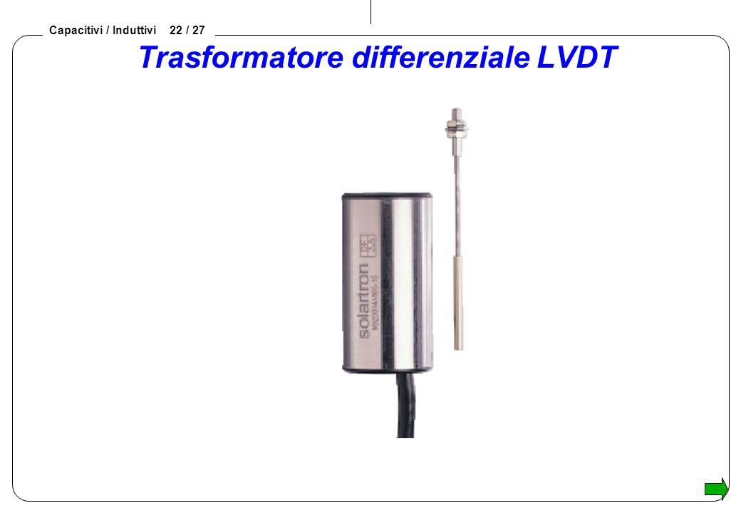 Trasformatore differenziale LVDT