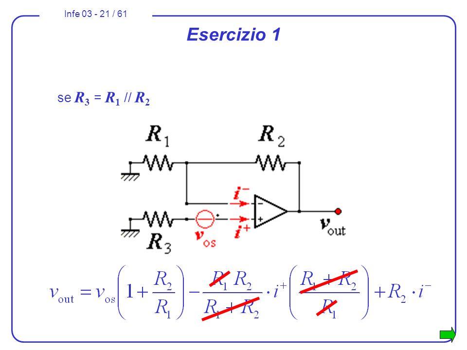 Esercizio 1 se R3 = R1 // R2