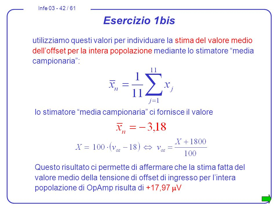 Esercizio 1bis