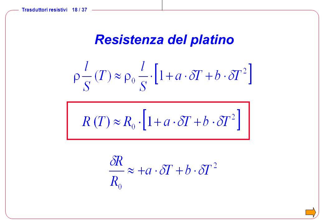 Resistenza del platino