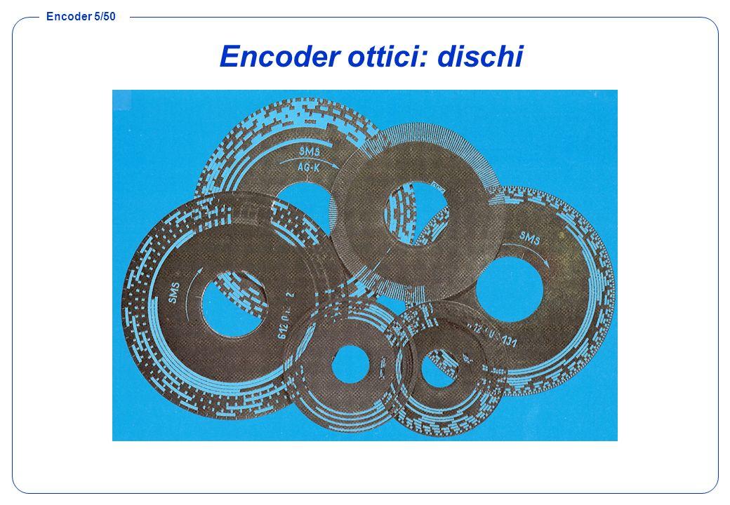 Encoder ottici: dischi