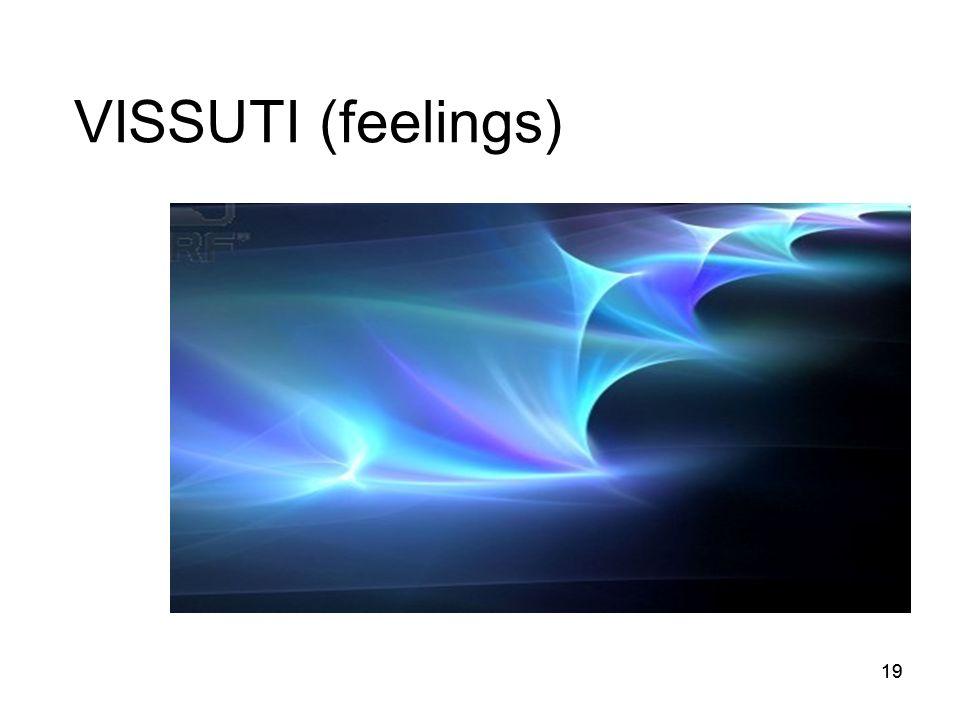 VISSUTI (feelings) 19 19