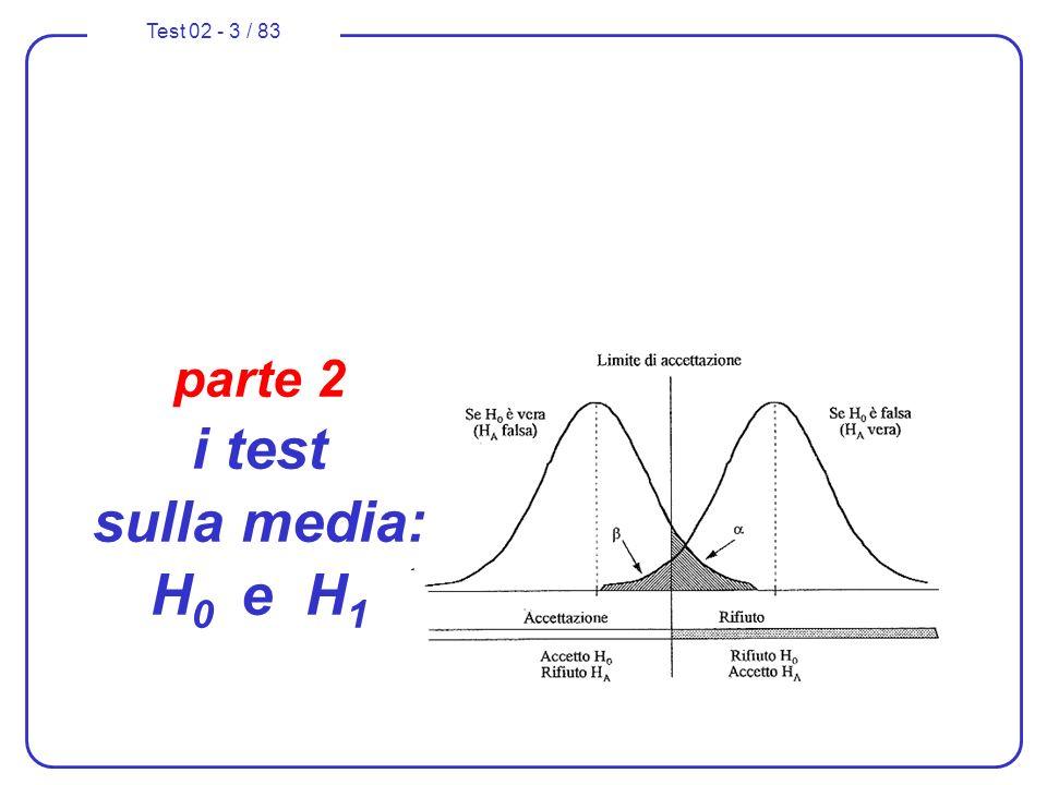 parte 2 i test sulla media: H0 e H1