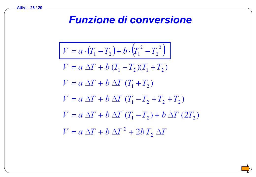 Funzione di conversione