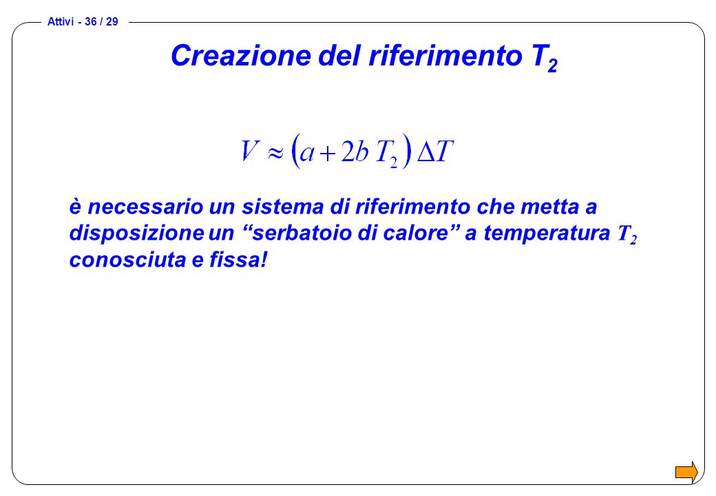 Creazione del riferimento T2