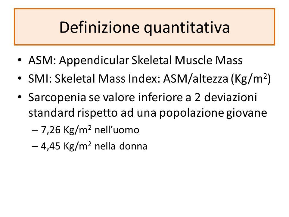 Definizione quantitativa
