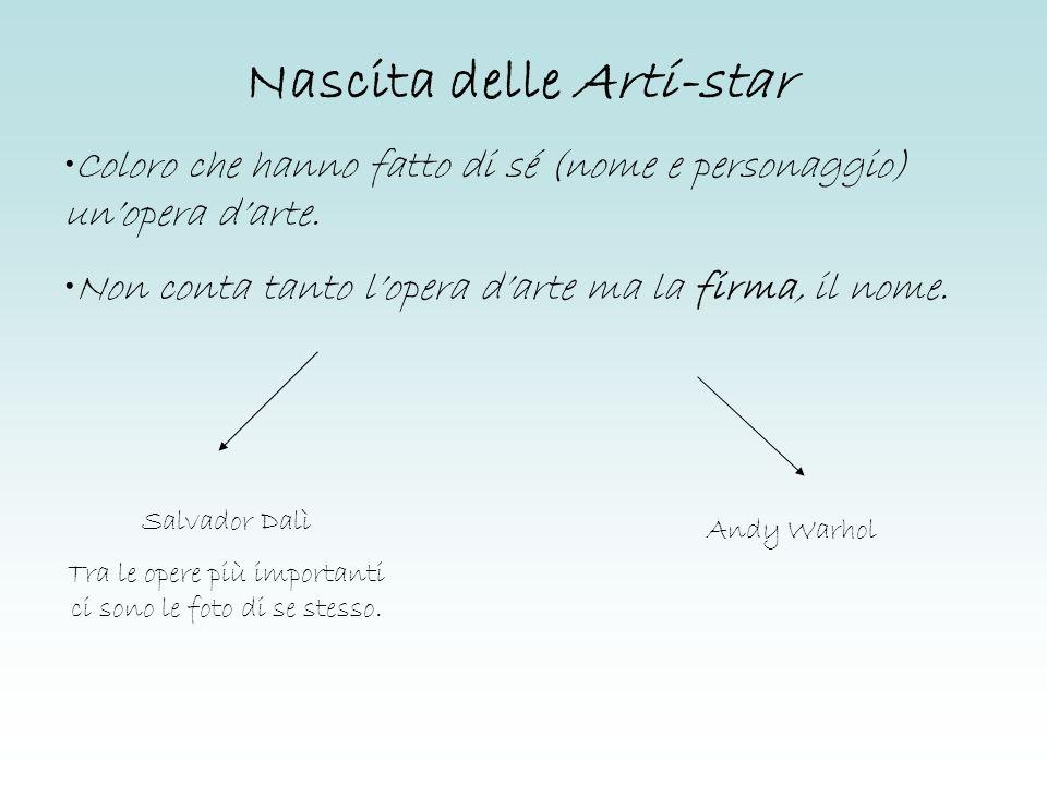 Nascita delle Arti-star