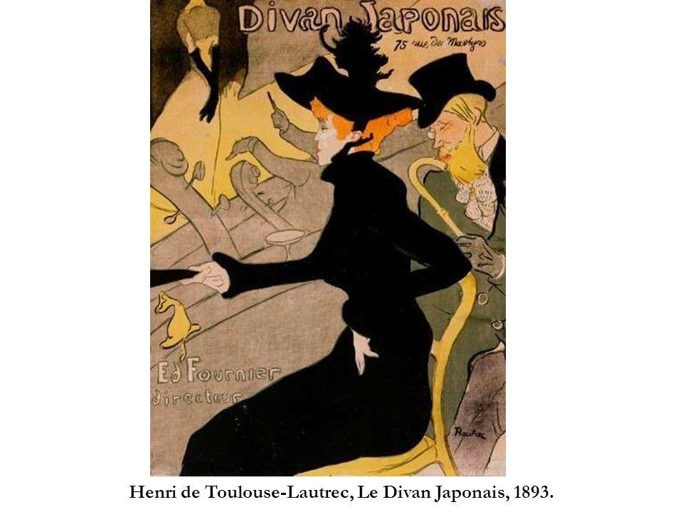 Henri de Toulouse-Lautrec, Le Divan Japonais, 1893.