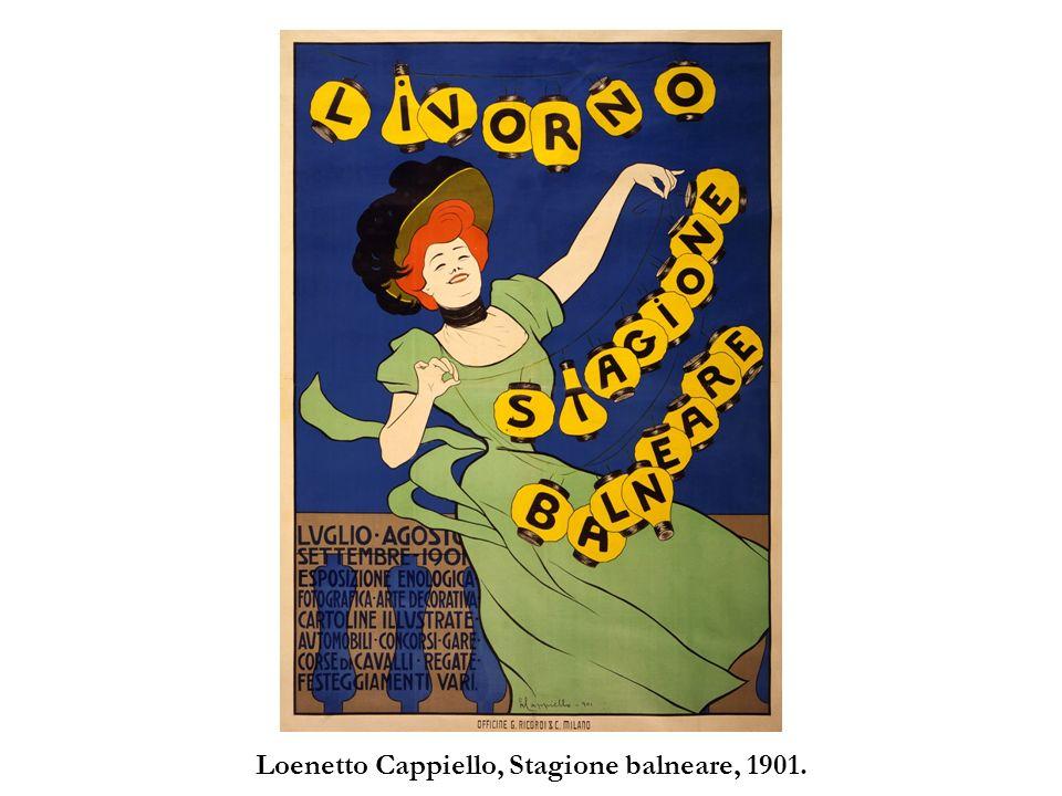Loenetto Cappiello, Stagione balneare, 1901.