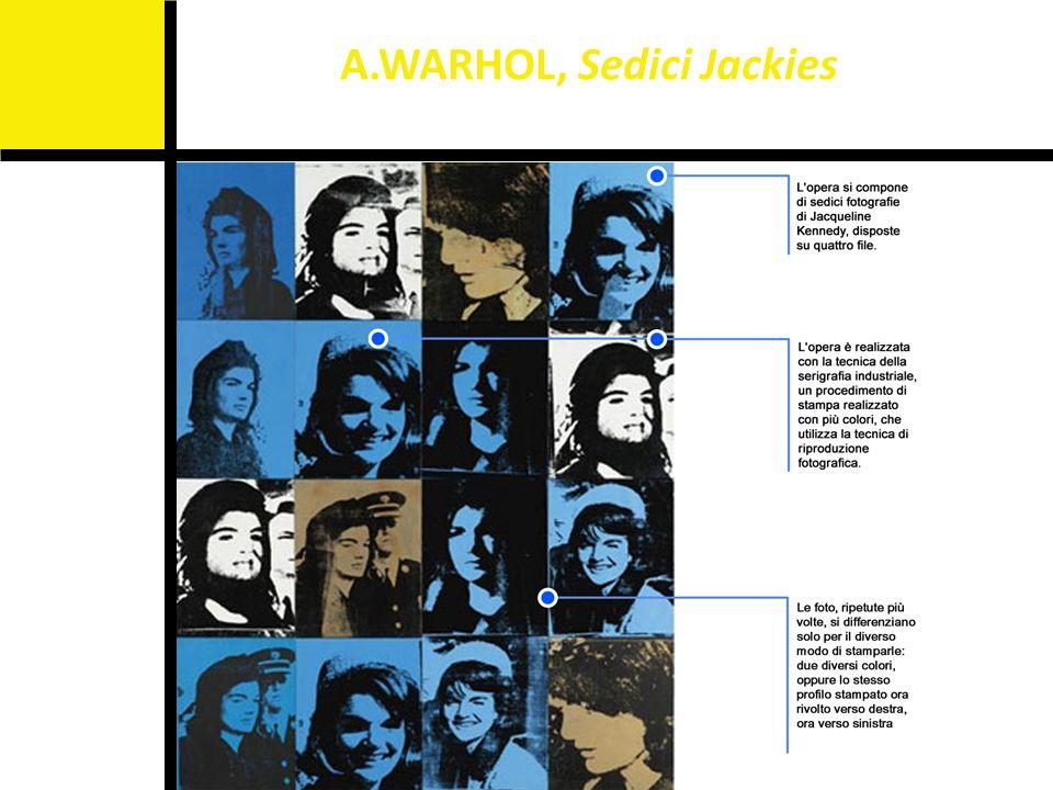 A.WARHOL, Sedici Jackies