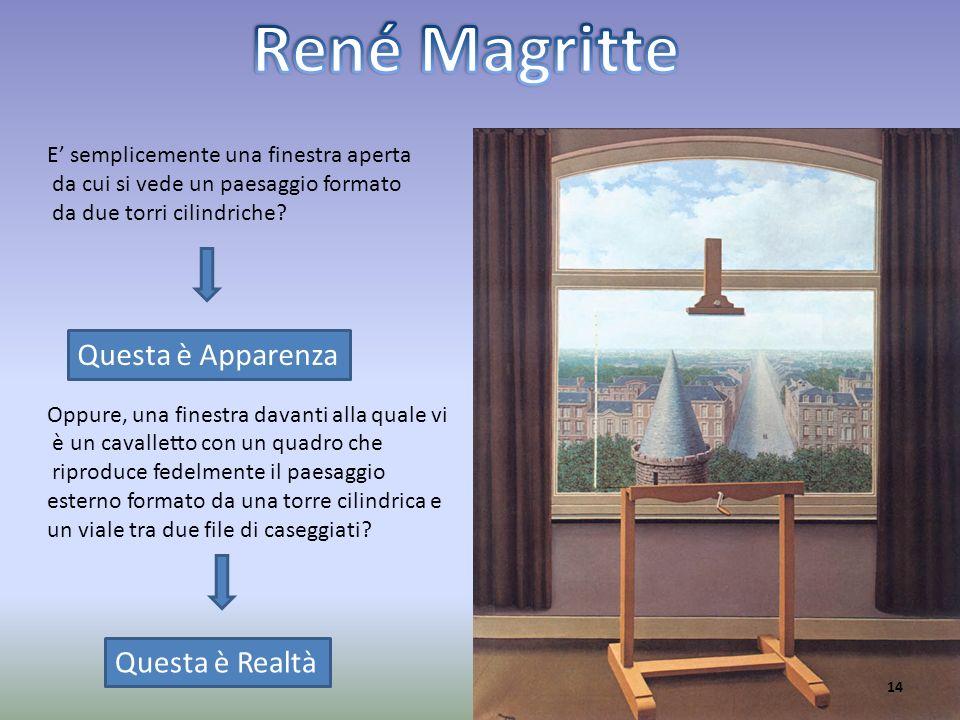 René Magritte Questa è Apparenza Questa è Realtà