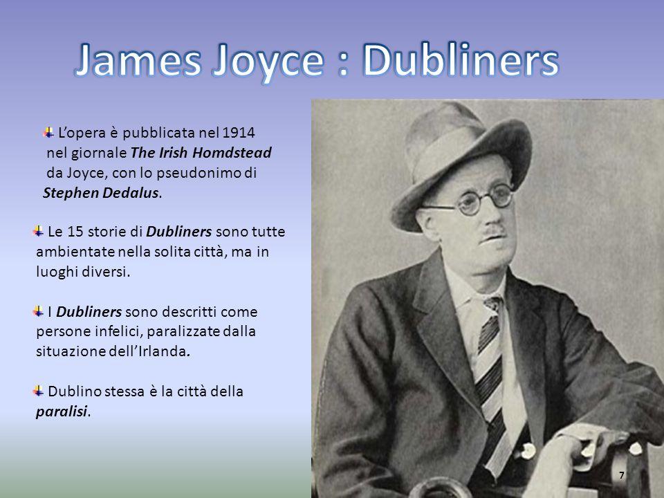 James Joyce : Dubliners