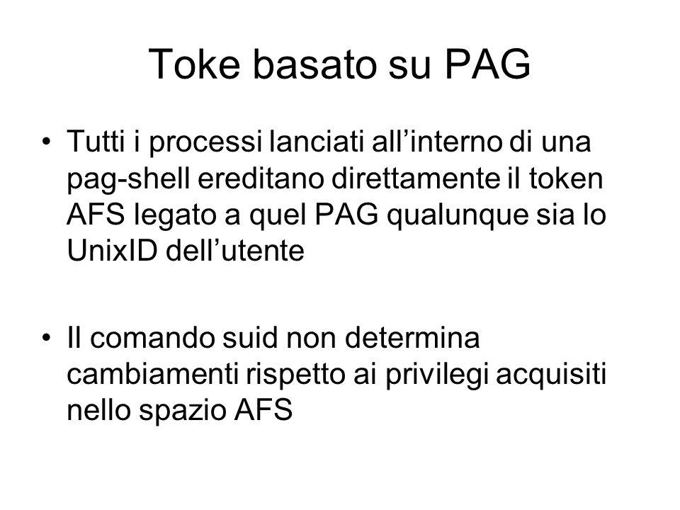 Toke basato su PAG