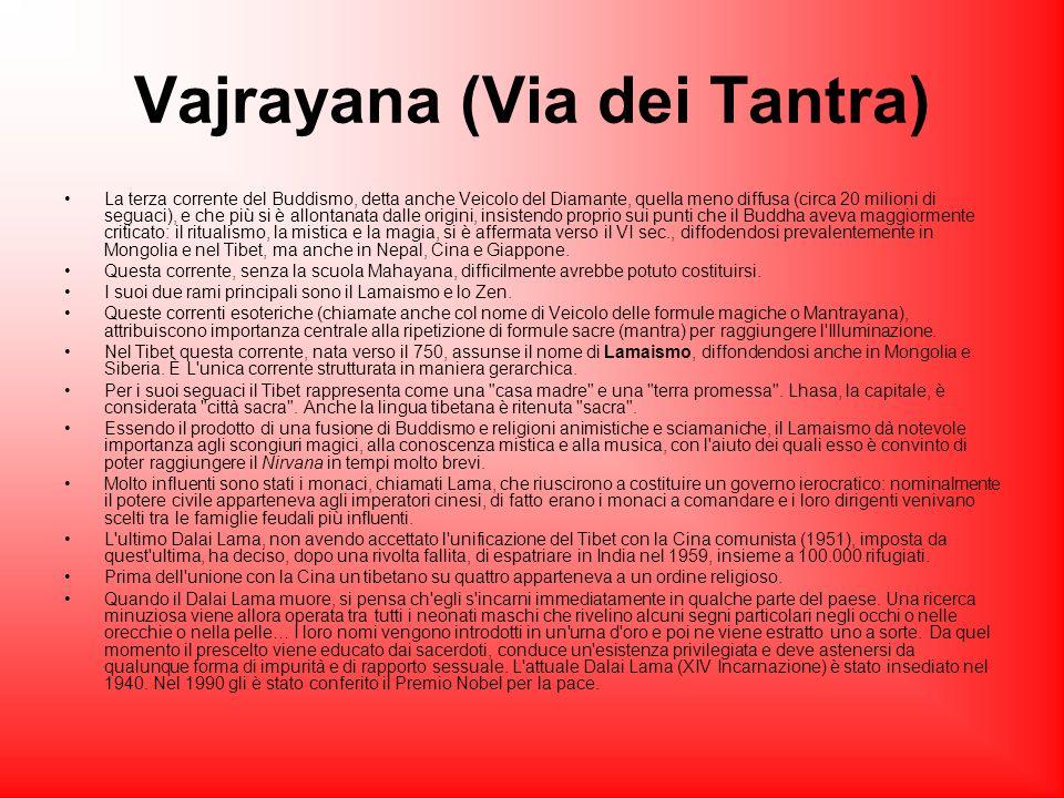 Vajrayana (Via dei Tantra)