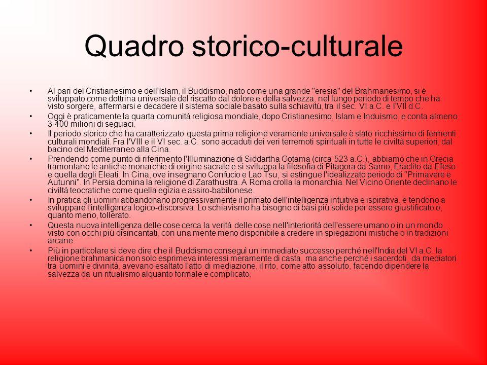 Quadro storico-culturale