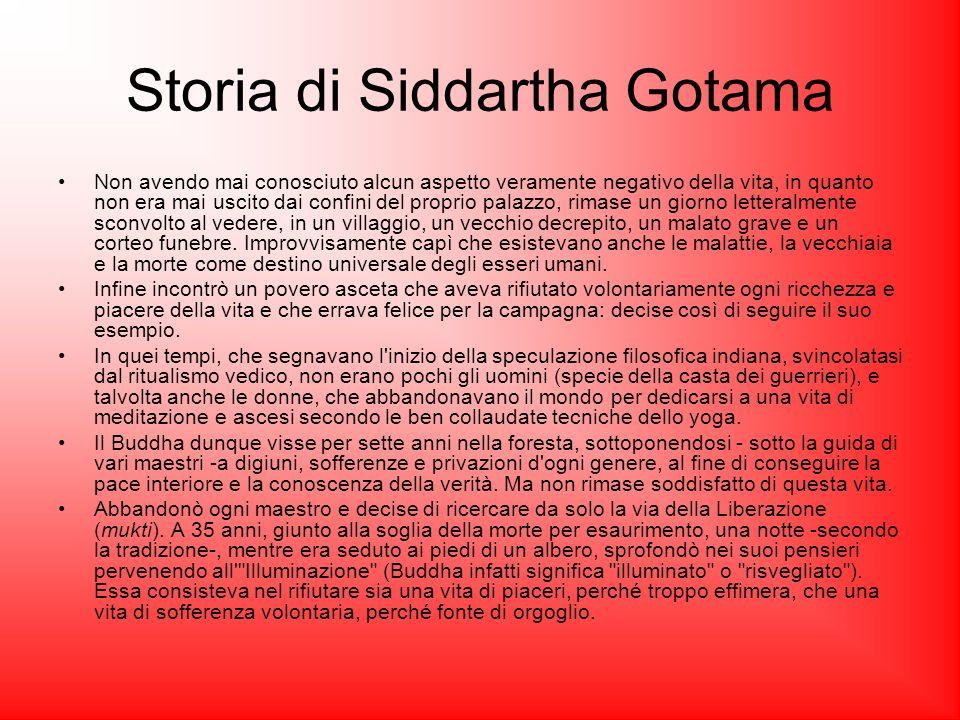 Storia di Siddartha Gotama