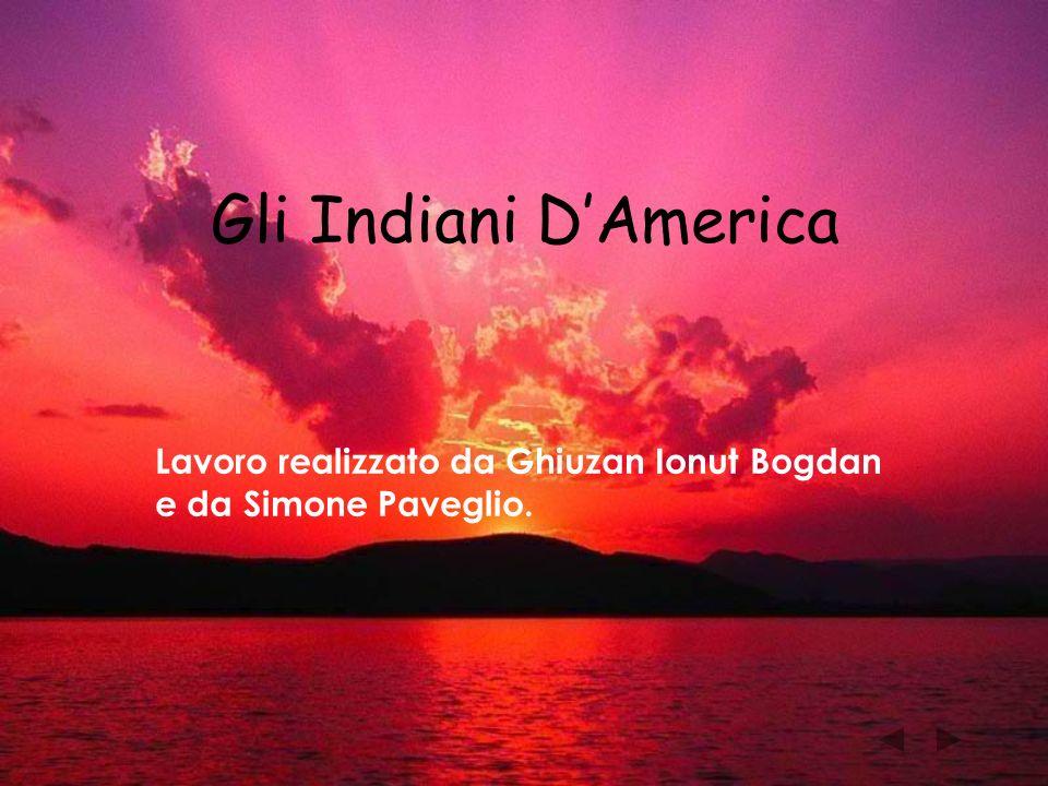 Gli Indiani D'America Lavoro realizzato da Ghiuzan Ionut Bogdan e da Simone Paveglio.