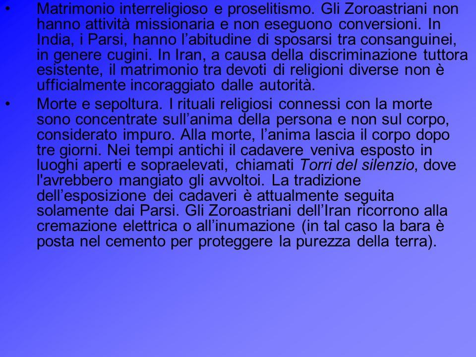 Matrimonio interreligioso e proselitismo
