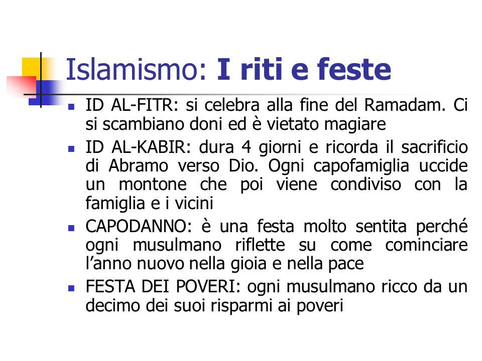 Islamismo: I riti e feste