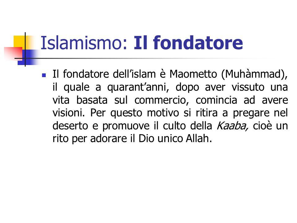 Islamismo: Il fondatore