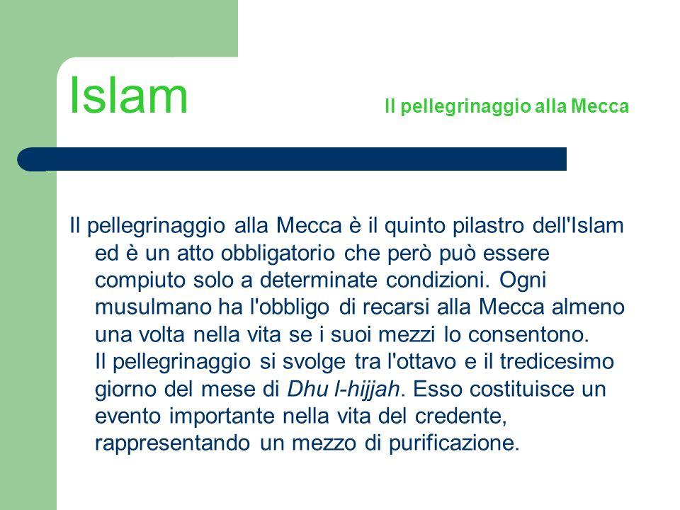 Islam Il pellegrinaggio alla Mecca