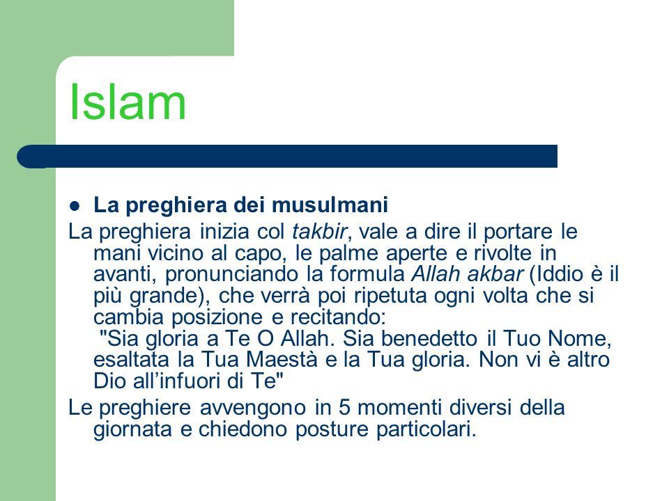 Islam La preghiera dei musulmani