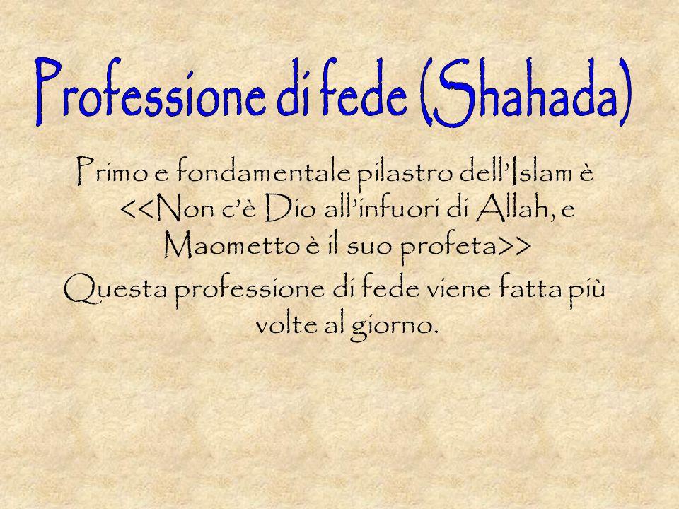 Professione di fede (Shahada)