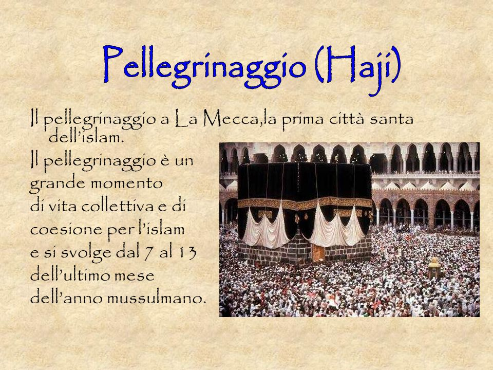 Pellegrinaggio (Haji)