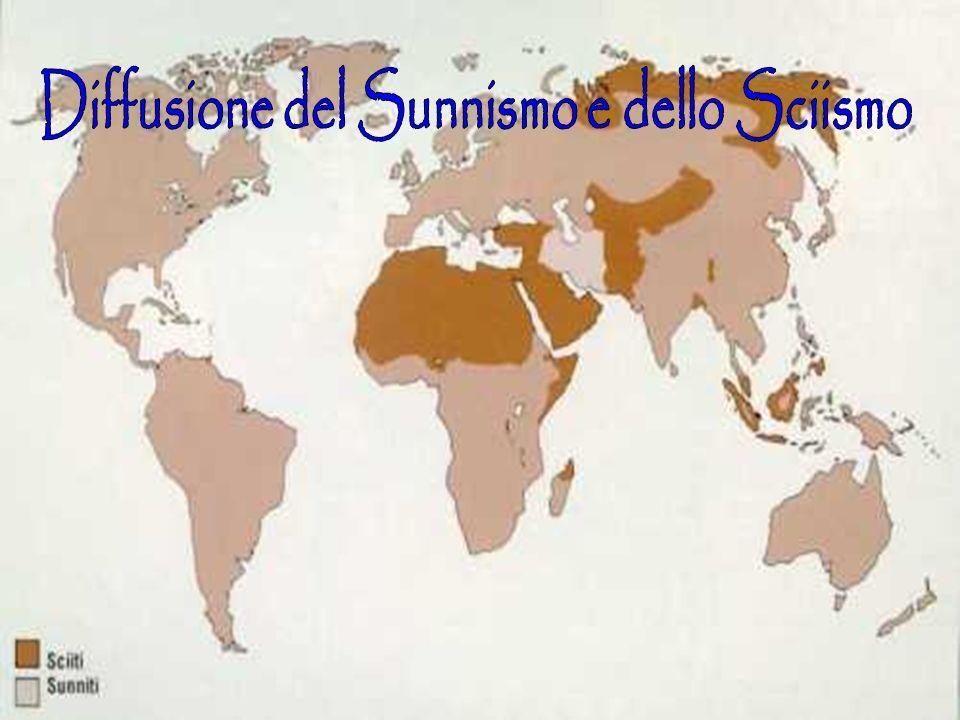 Diffusione del Sunnismo e dello Sciismo