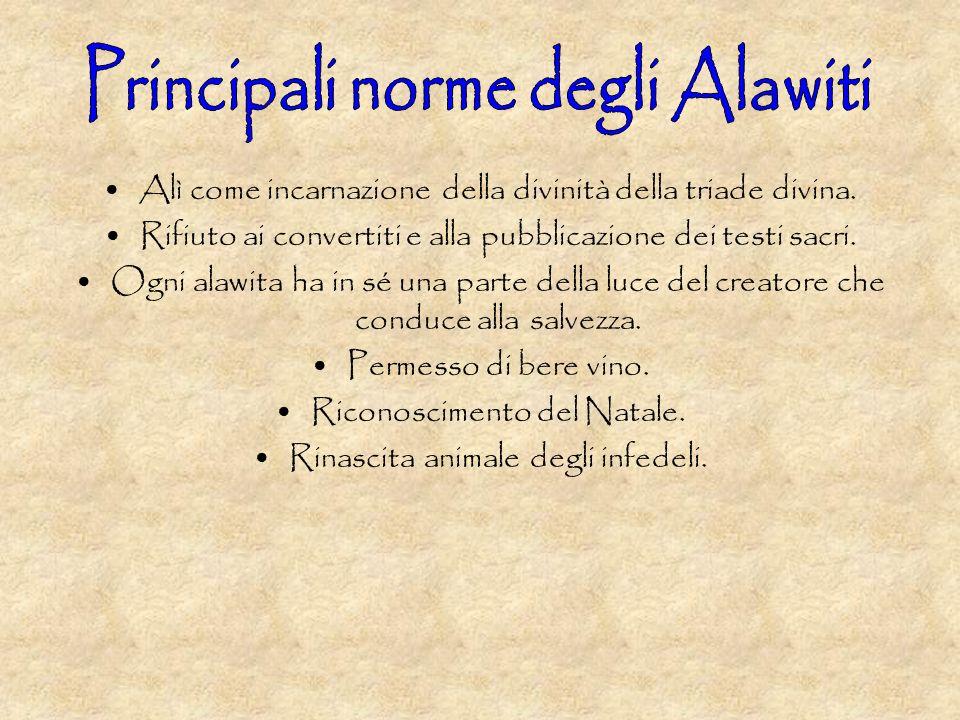 Principali norme degli Alawiti