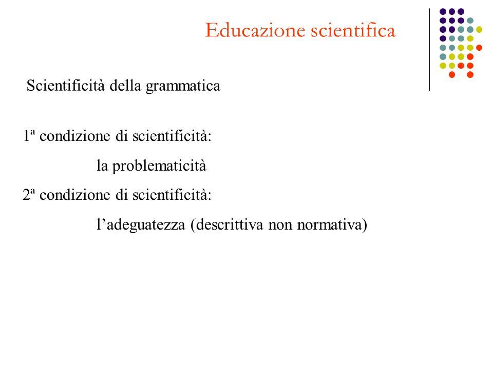 Educazione scientifica